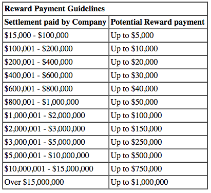 Reward Guidelines BSA - Software Piracy Reporting