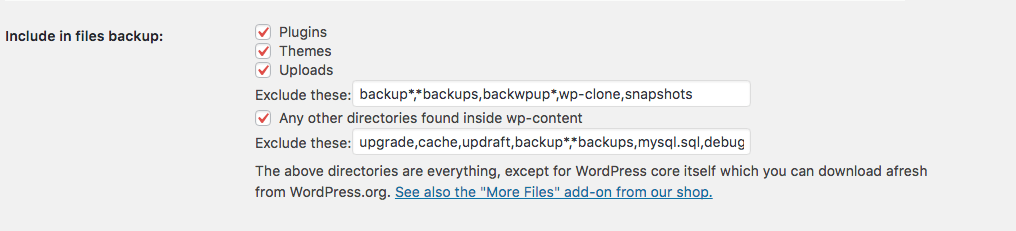 UpdraftPlus for WordPress Backups