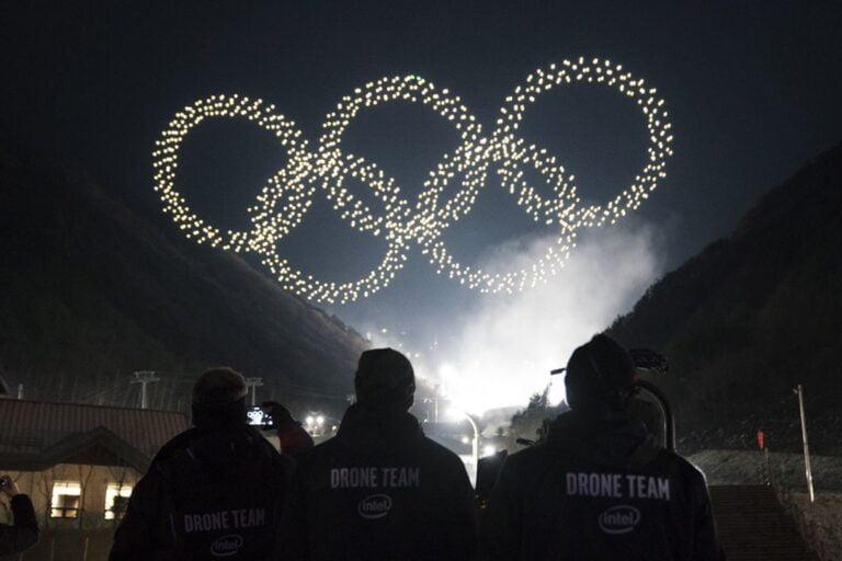 Olympics Drones