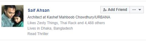 fake Facebook account dhaka bangladesh