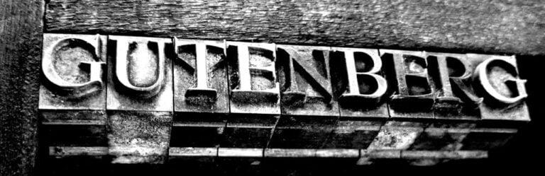 gutenberg wordpress editor banner