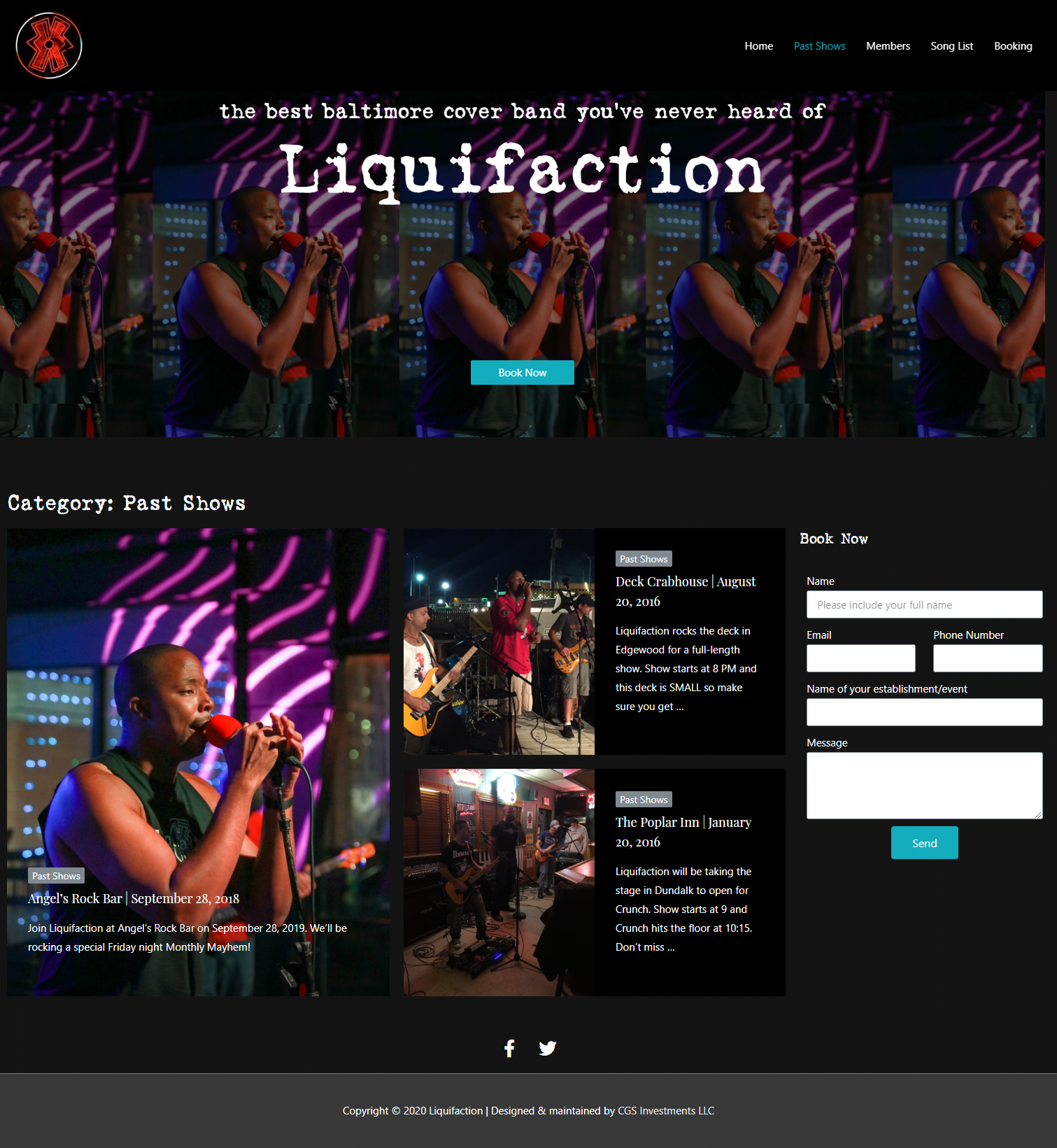 Liquifaction Site