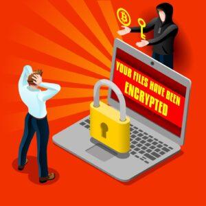 cyber attack ransomware hacker