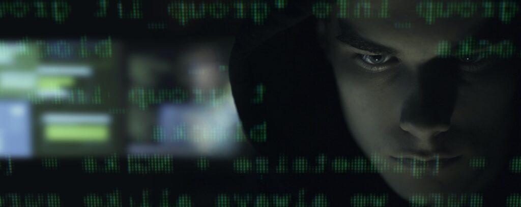 Cool your hacker portrait in the dark