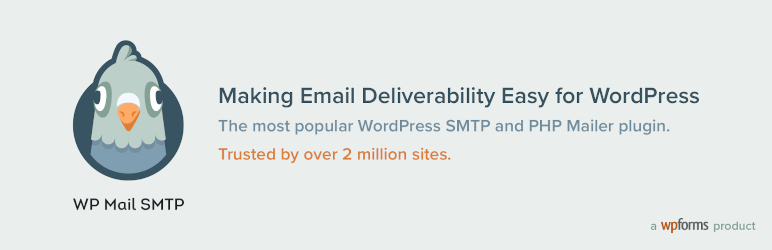 WP Mail SMTP Banner